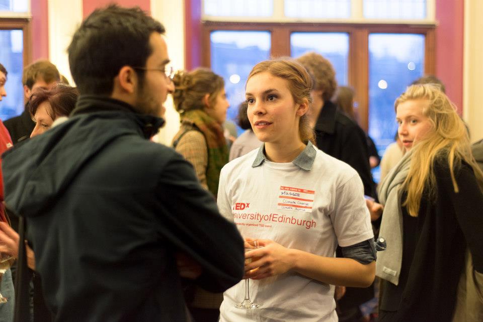 Beltane Online Resource Intern, Maggie, at TEDxUniversityofEdinburgh
