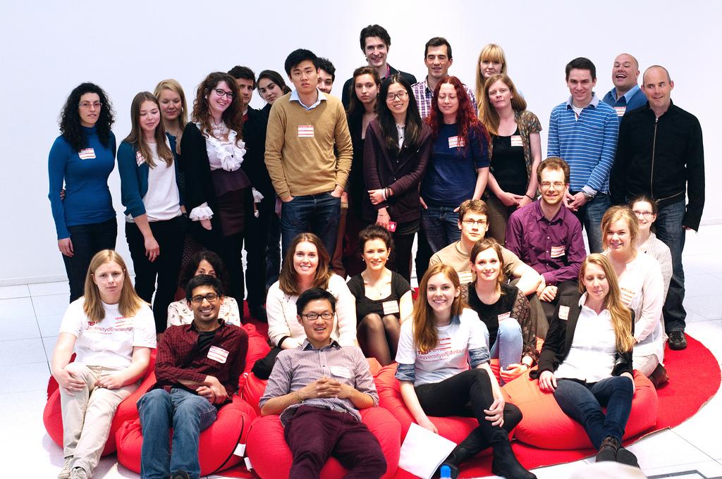 TEDxUniversityofEdinburghLive 2013 - photo courtesy of Mihaela Bodlovic