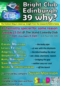Bright Club Edinburgh #39 Why? @ Edinburgh   Scotland   United Kingdom